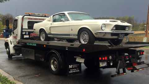 Collector Car Towing Northern VA