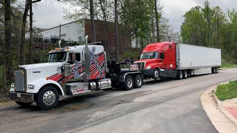 Heavy Towing Service Northern VA